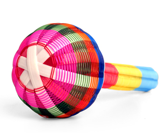 enfant-terrible - raffia rattle :  baby toys children rattle